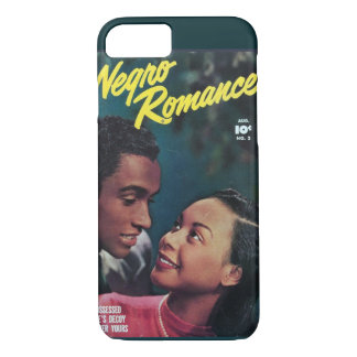 Seltenes goldenes Alters-Romance Comic iPhone 8/7 Hülle
