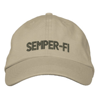 Semper-FI - Kappe Besticktes Baseballcap