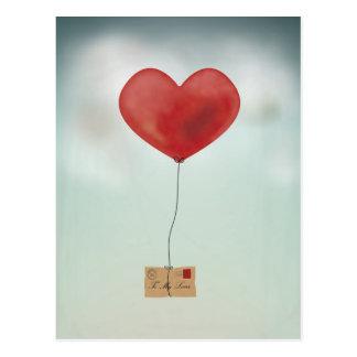 Senden Ihrer Liebe Postkarte
