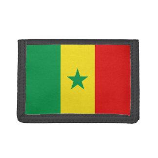 Senegal-Flaggen-Geldbörse