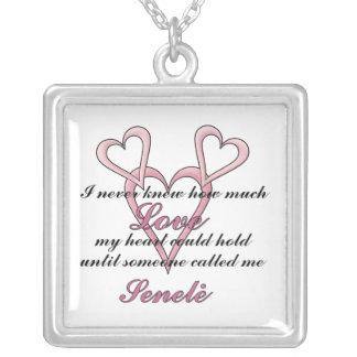 Senelė (ich wusste nie), Halskette Mutter Tages