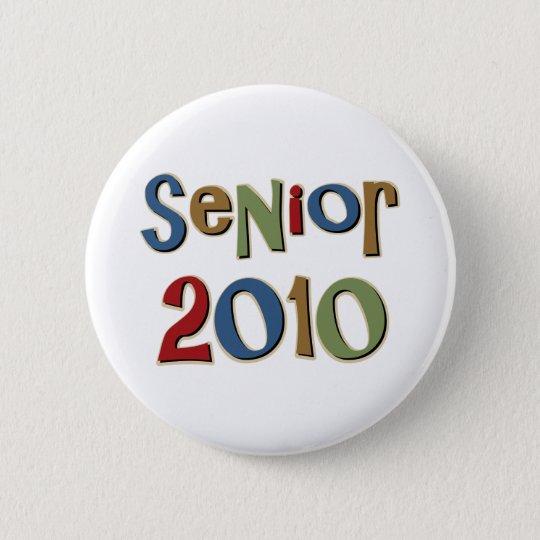 Senior 2010 runder button 5,1 cm