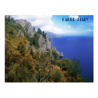 Sentiero dei Cacciatori, Insel von Capri Postkarte