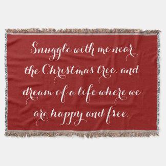 Sentimentales Weihnachtsgedicht Decke