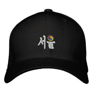 Seoul (서울) 2018 bestickte kappe