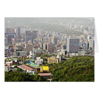 Seoul von oben karte