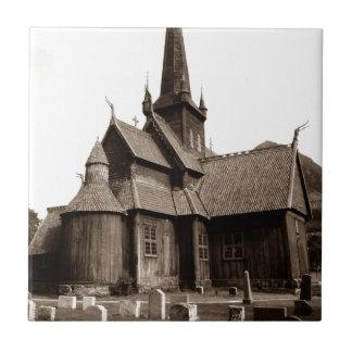 SepiaVintages gotisches Kirchen-u. Keramikfliese