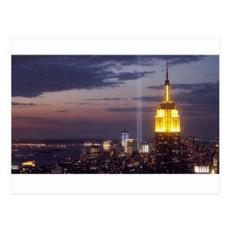 Sept. 11 2001 postkarte
