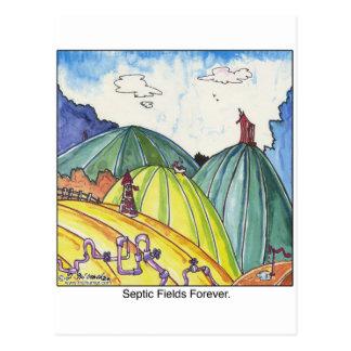 Septische Felder für immer Postkarten