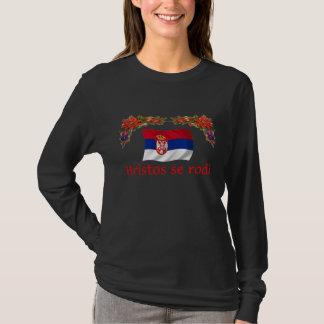 Serbien-Weihnachten T-Shirt