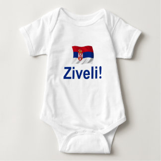 Serbien Ziveli! Baby Strampler