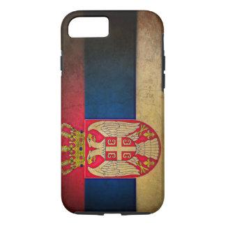 serbische Flagge iPhone 8/7 Hülle