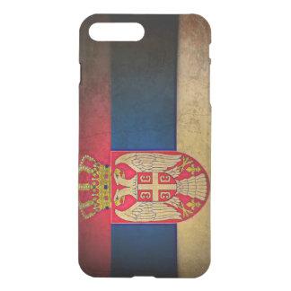 Serbische Flagge iPhone 8 Plus/7 Plus Hülle