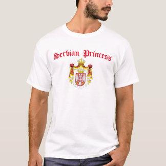 Serbische Prinzessin (mit Serbien-Wappen) T-Shirt