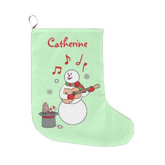 Serenade des Schneemanns Weihnachts Großer Weihnachtsstrumpf