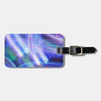 Serenade-Gepäckanhänger mit Lederband Kofferanhänger