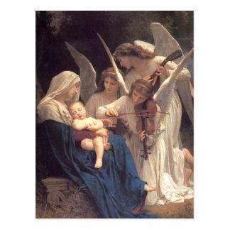 Serenade von Engeln Postkarte