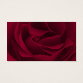 Serenity-Gebets-Burgunder-Rose Visitenkarte