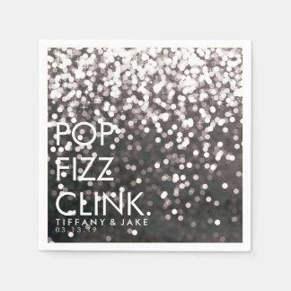 Serviette - funkelnder PopFizzClink