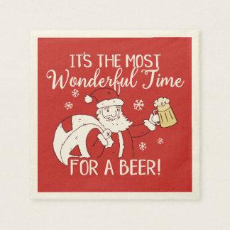 Serviette Jetable Noël la plupart de temps merveilleux pour une