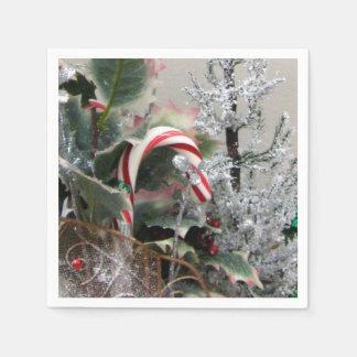 Serviettes Jetables serviettes de papier de Noël