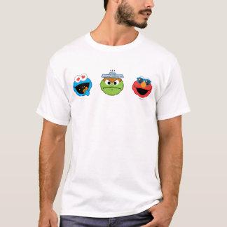 Sesame Street Emoji Kumpel T-Shirt