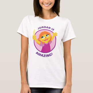 Sesame Street | Julia, die Feder hält T-Shirt