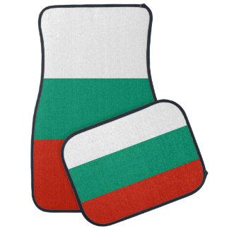 Set Automatten mit Flagge von Bulgarien Automatte