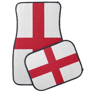 Set Automatten mit Flagge von England Automatte