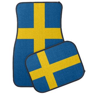 Set Automatten mit Flagge von Schweden Automatte