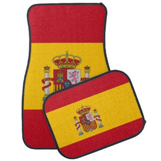 Set Automatten mit Flagge von Spanien Automatte