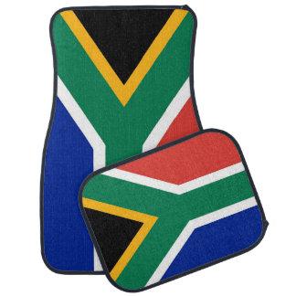 Set Automatten mit Flagge von Südafrika Automatte