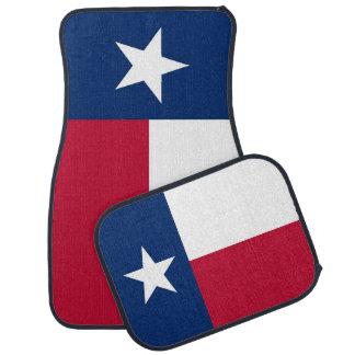 Set Automatten mit Flagge von Texas, USA Autofußmatte
