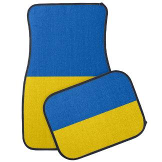 Set Automatten mit Flagge von Ukraine Automatte