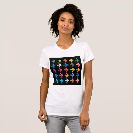 Set des T - Shirt der Pfeil-Frauen