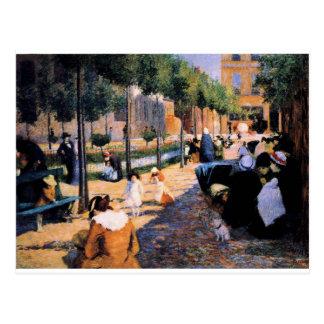 Setzen Sie d'Anvers, Paris durch Federico Postkarte