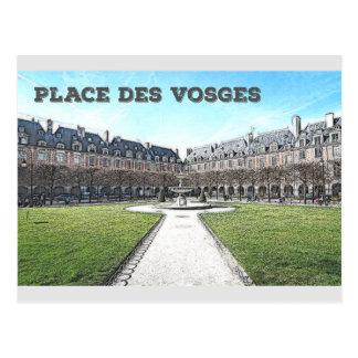 Setzen Sie DES Vosges Postkarte