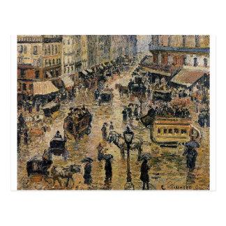 Setzen Sie DU Havre, Paris durch Camille Pissarro Postkarte