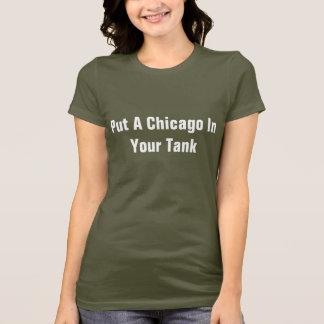 Setzen Sie ein Chicago in Ihren Behälter ein T-Shirt