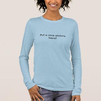 Setzen Sie ein nettes Bild hier! Langarm T-Shirt
