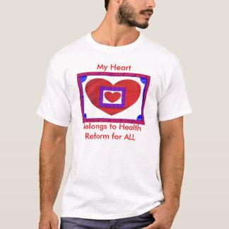 Setzen Sie Ihr Herz in Gesundheitswesen für ALLE T-Shirt