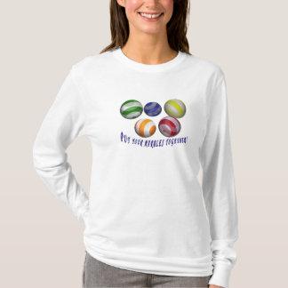 Setzen Sie Ihre weiblichen humorvollen Allgrößen T-Shirt