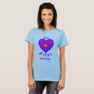 Setzen Sie Liebe erste T-Shirt
