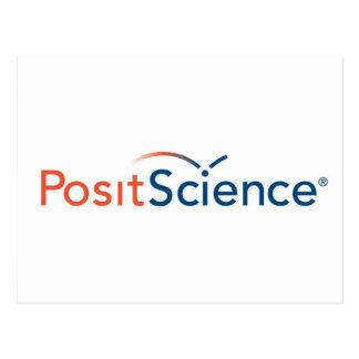 Setzen Sie Logo voraus Postkarte