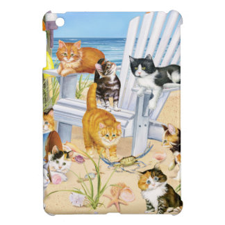 Setzen Sie wertlos Kätzchen-hartes Muschel iPad iPad Mini Cover