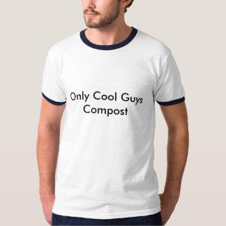 Seulement compost frais de types t-shirt