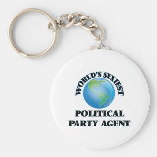 Sexyster politischer das Party-Agent der Welt Schlüsselband
