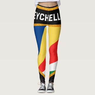 Seychellen-Flagge Leggings