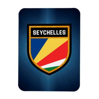 Seychellen-Flagge Magnet