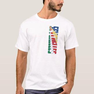 Seychellen-Flagge T-Shirt
